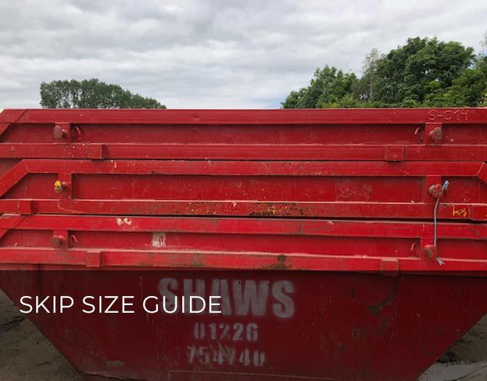 Skip Size Guide
